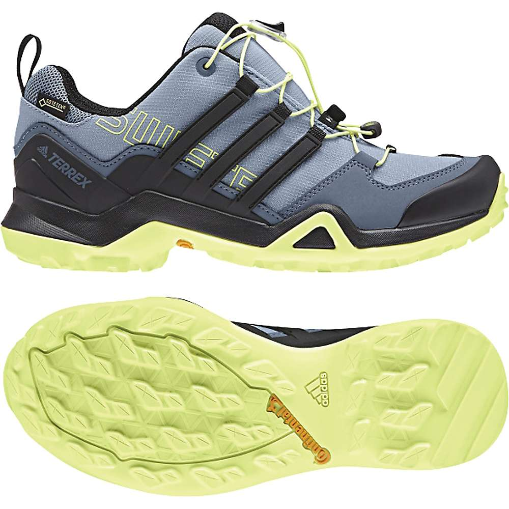 アディダス レディース ハイキング・登山 シューズ・靴【Terrex Swift R2 GTX Shoe】Raw Grey / Black / Semi Frozen Yellow