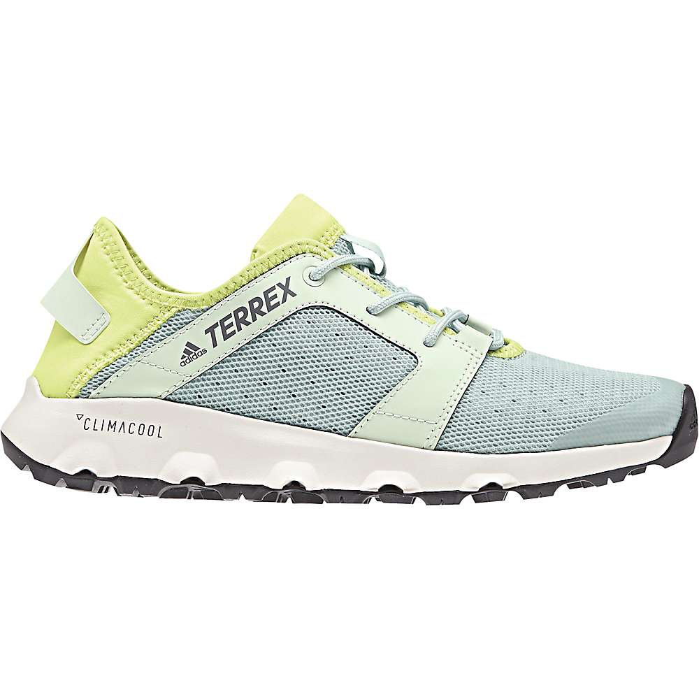 アディダス レディース ハイキング・登山 シューズ・靴【Terrex CC Voyager Sleek Shoe】Ash Green / Aero Green / Semi Frozen Yellow