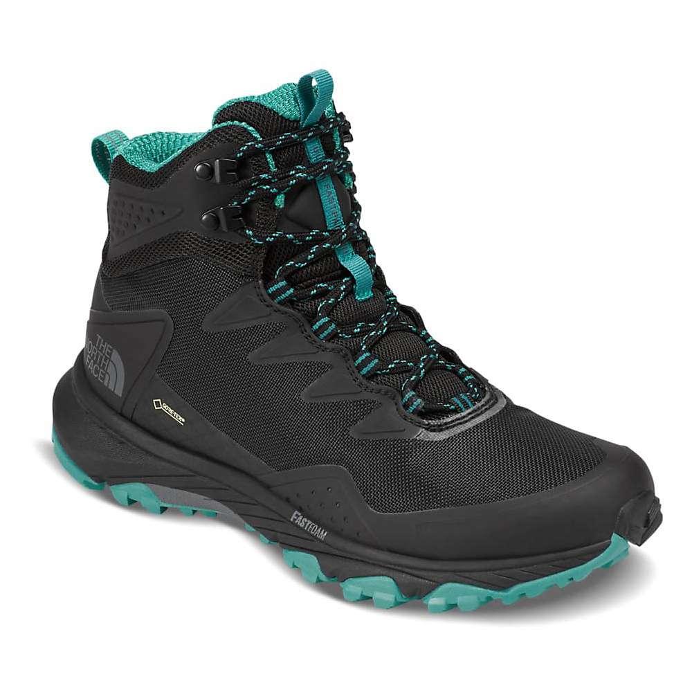 ザ ノースフェイス レディース 陸上 シューズ・靴【Ultra Fastpack III Mid GTX Shoe】TNF Black / Porcelain Green