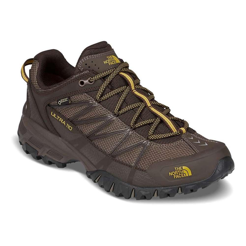 ザ ノースフェイス メンズ 陸上 シューズ・靴【Ultra 110 GTX Shoe】Weimaraner Brown / Leopard Yellow