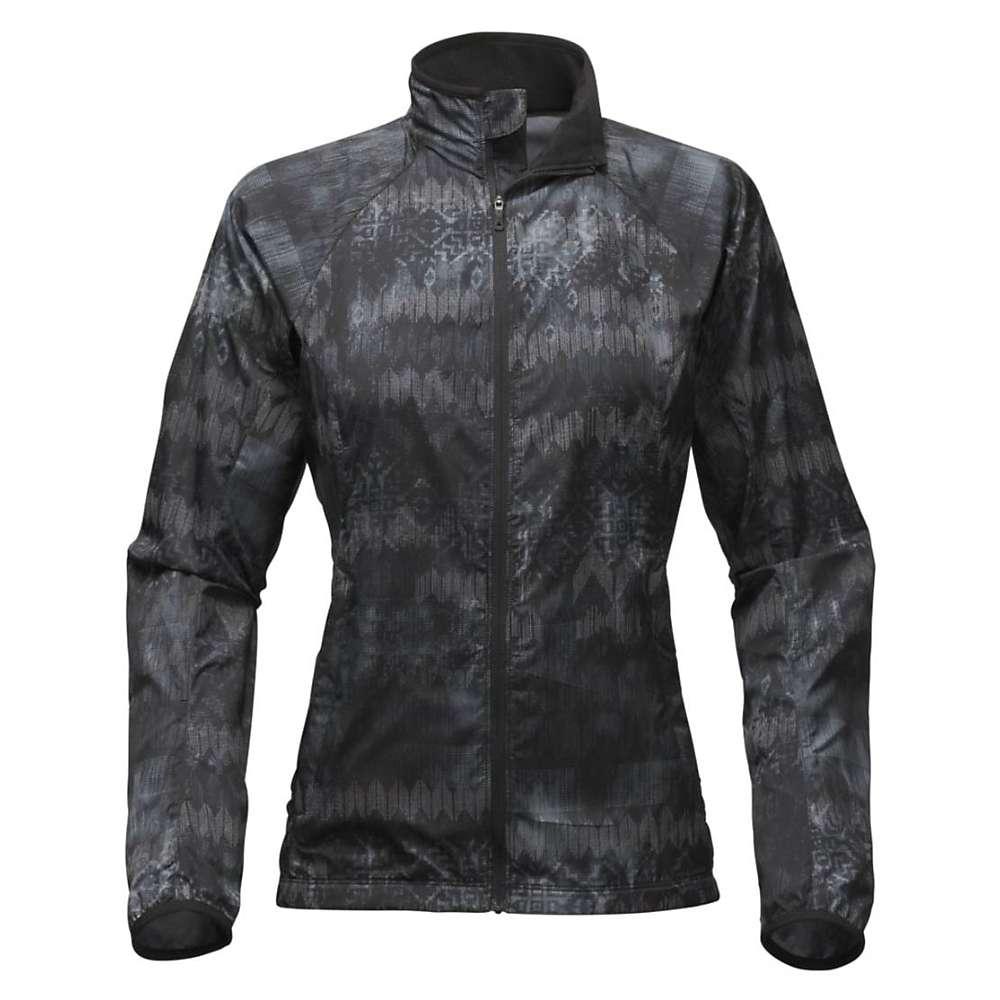 ザ ノースフェイス レディース ランニング・ウォーキング アウター【Ambition Jacket】TNF Black Reflective Weaver Print