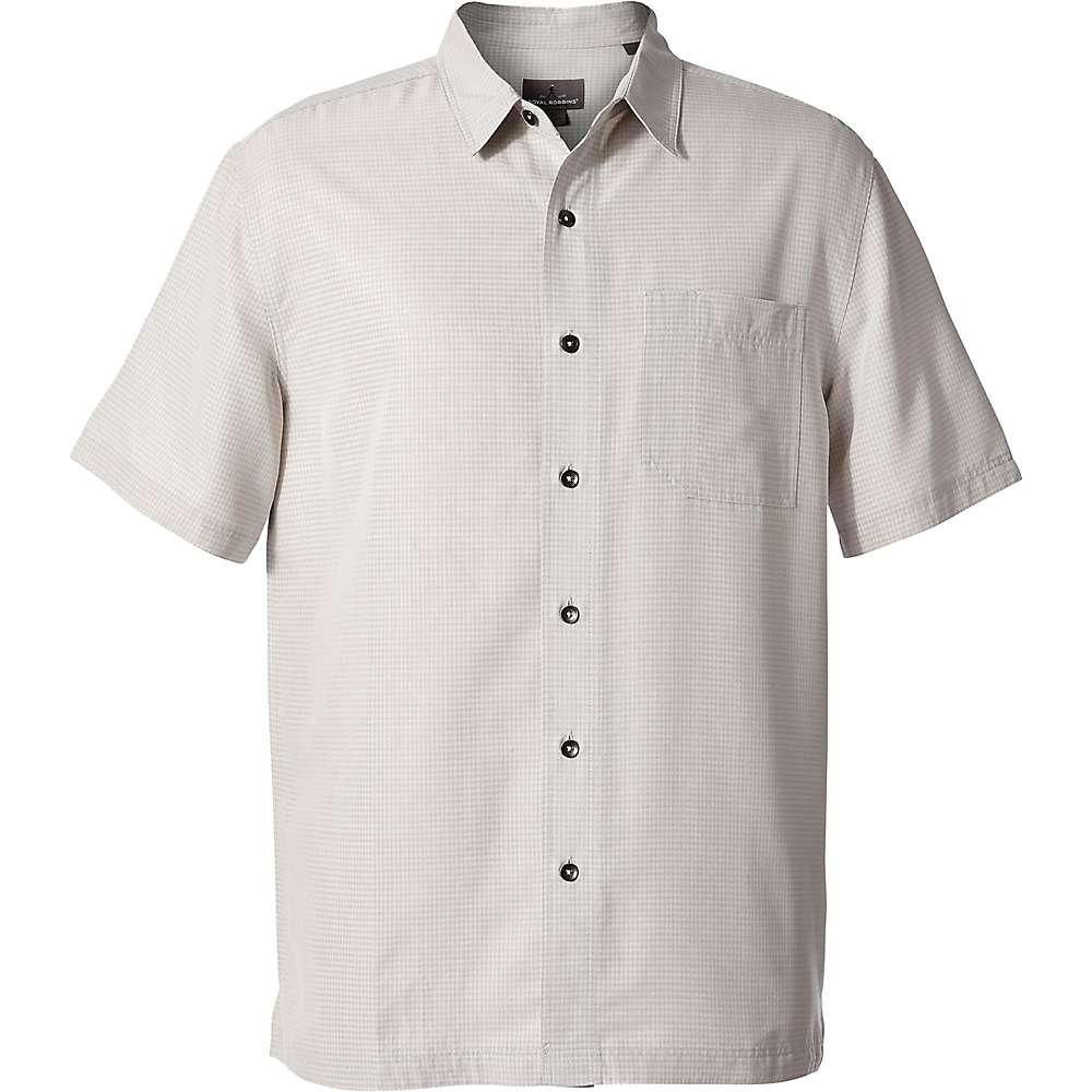 ロイヤルロビンズ メンズ トップス 半袖シャツ【Desert Pucker Dry SS Shirt】Sand Dollar