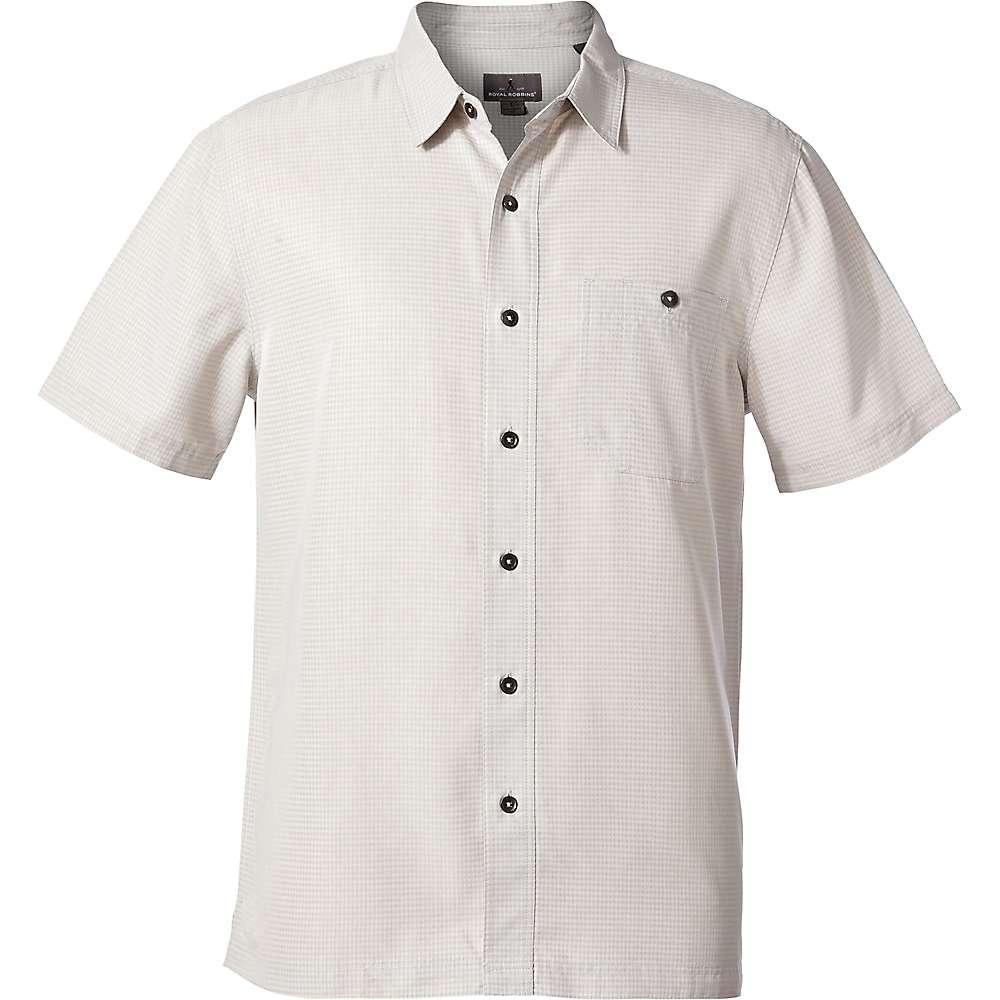 ロイヤルロビンズ メンズ トップス 半袖シャツ【Mojave Pucker Dry SS Shirt】Sand Dollar