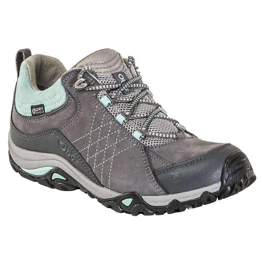 オボズ レディース ハイキング・登山 シューズ・靴【Sapphire Low BDry Shoe】Charcoal / Beach Glass