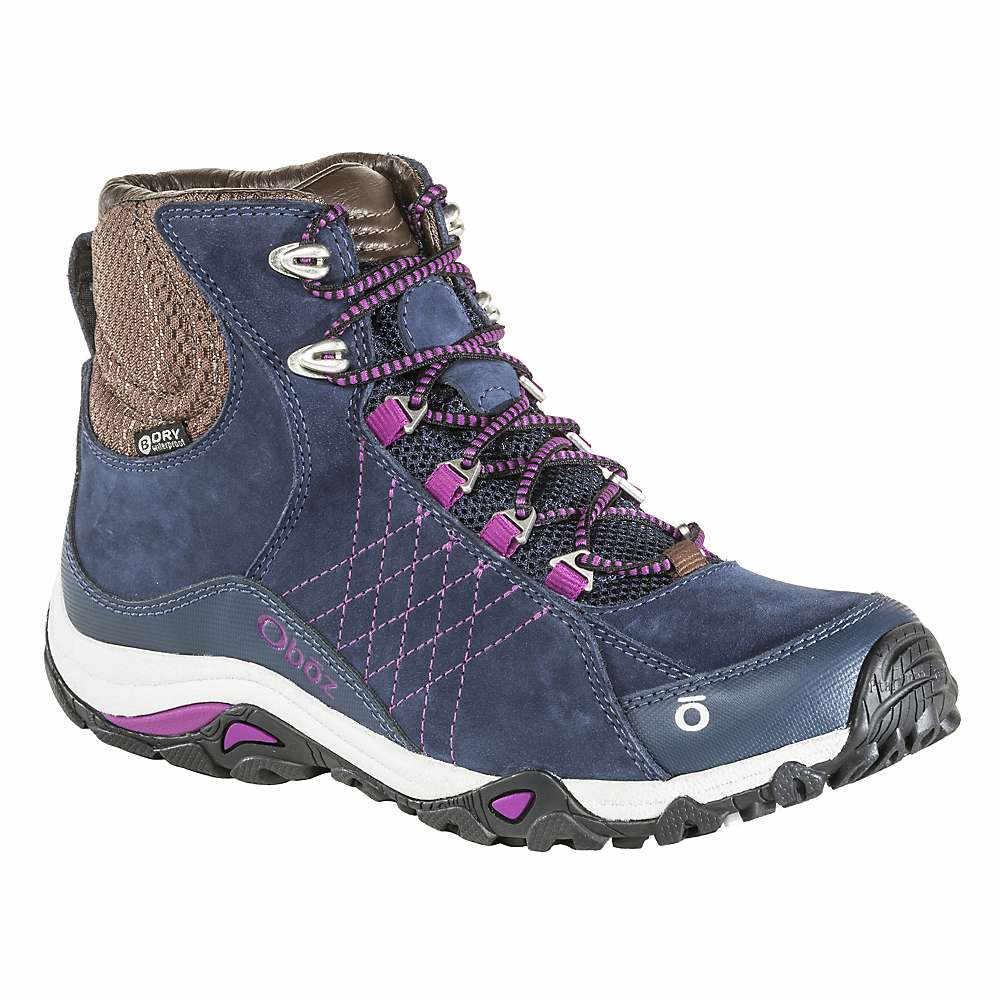 オボズ レディース ハイキング・登山 シューズ・靴【Sapphire Mid BDry Boot】Huckleberry
