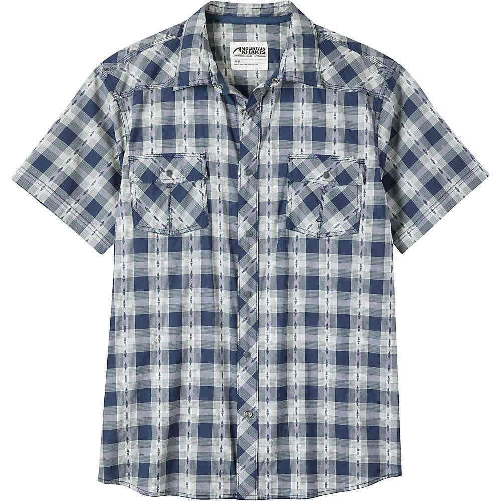 マウンテンカーキス メンズ トップス 半袖シャツ【Rodeo SS Shirt】Twilight