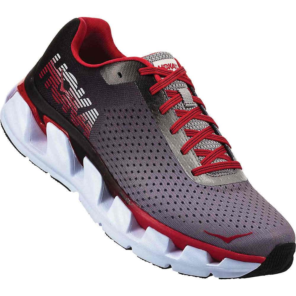 ホカ オネオネ メンズ ランニング・ウォーキング シューズ・靴【Elevon Shoe】Black / Racing Red