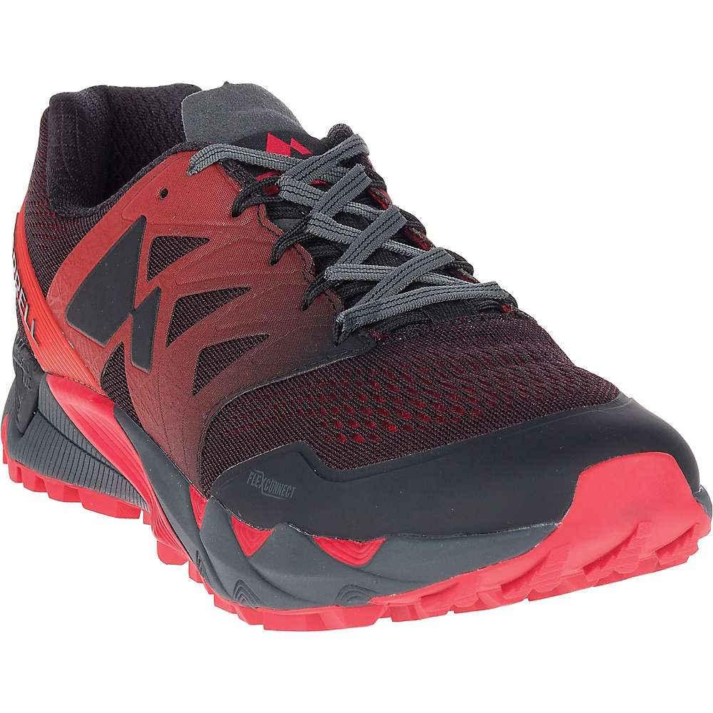 メレル メンズ 陸上 シューズ・靴【Agility Peak Flex 2 E-Mesh Shoe】Black
