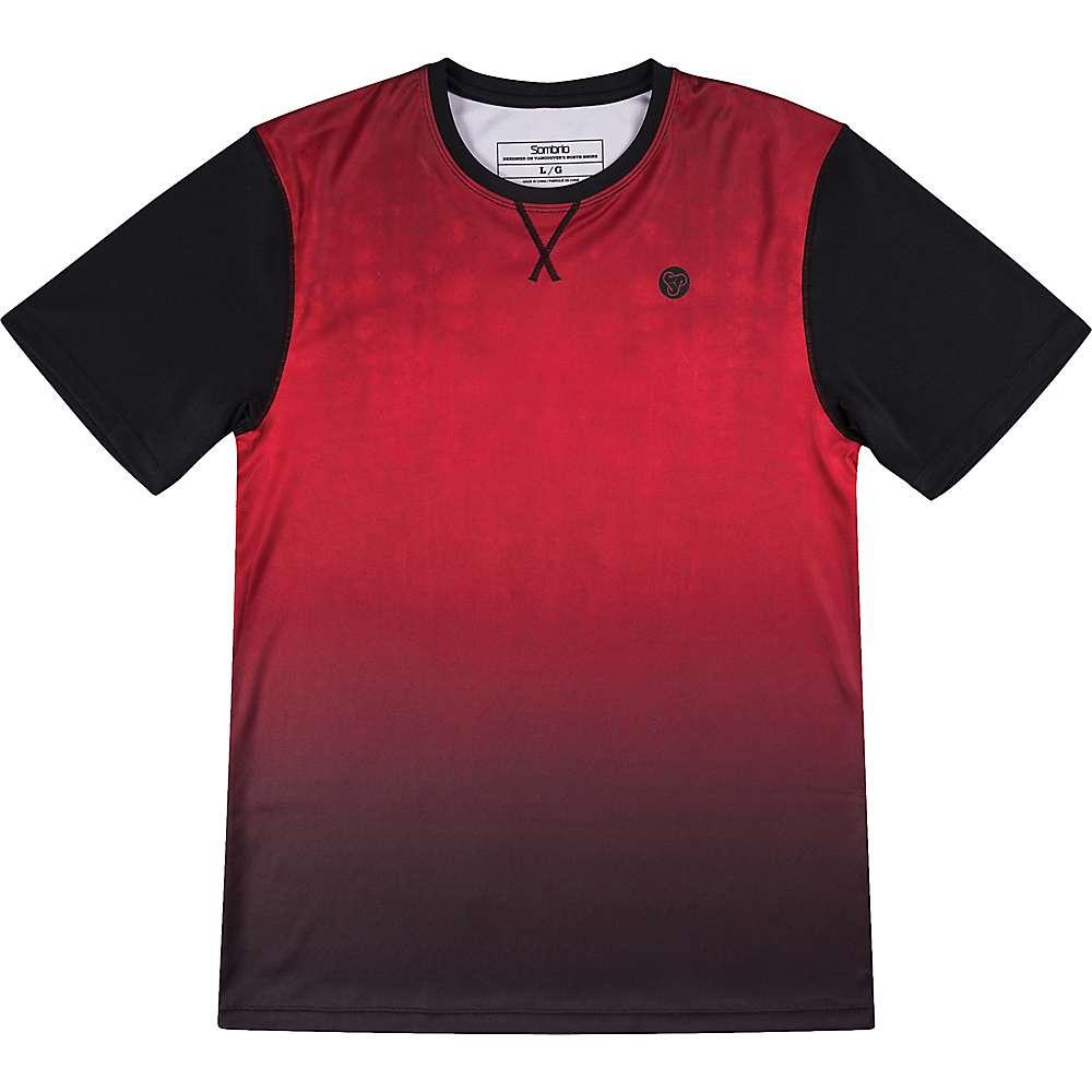 ソンブリオ メンズ 自転車 トップス【Renegade Jersey】Deep Red Tie Dye