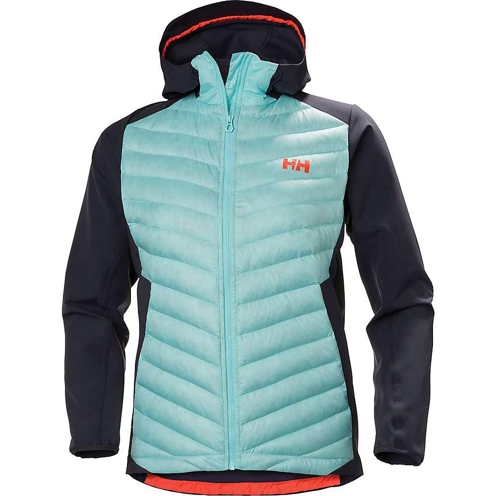 ヘリーハンセン レディース アウター ダウンジャケット【Verglas Light Jacket】Glacier