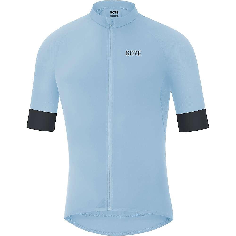 ゴア メンズ 自転車 トップス【Bike Wear C5 Jersey】Ciel Blue