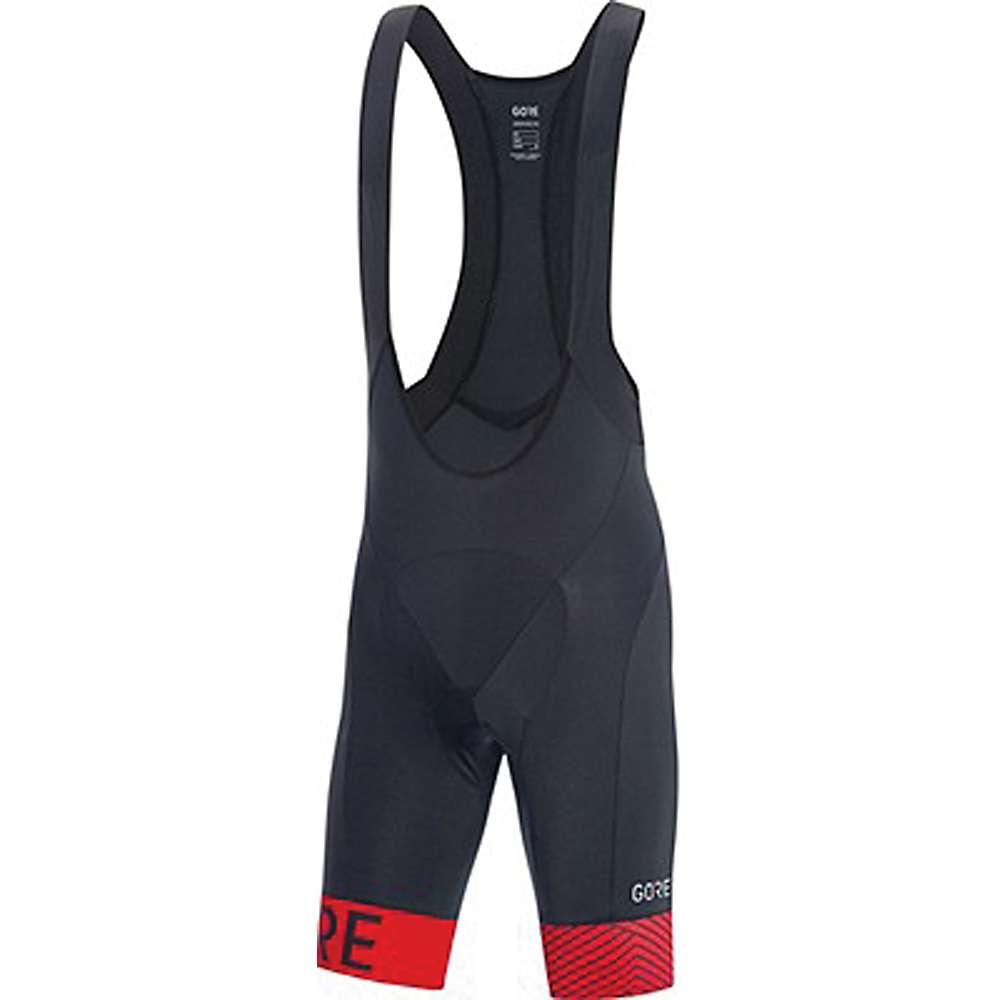 ゴア メンズ 自転車 ボトムス・パンツ【Bike Wear C5 Optiline Bib Short】Black / Red
