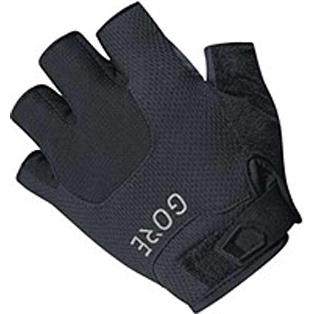 ゴア メンズ 自転車 グローブ【Bike Wear C5 Short Finger Trail Glove】Black