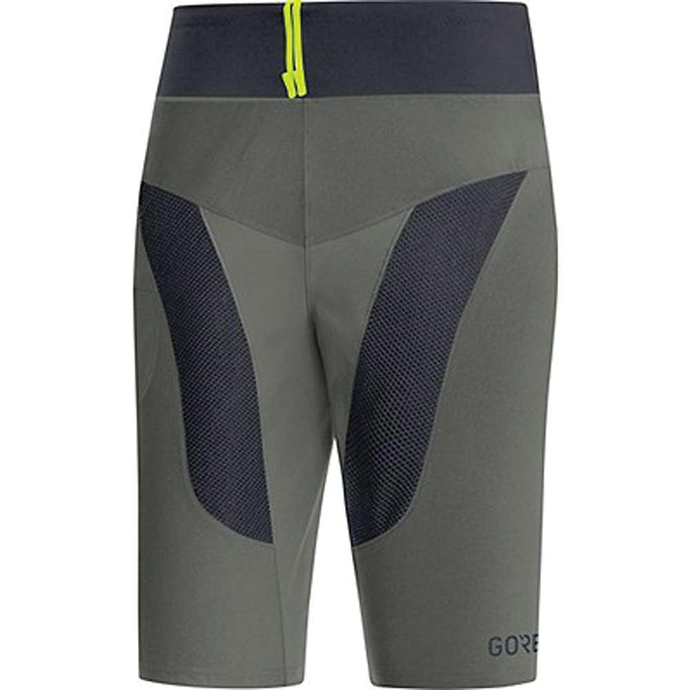 ゴア メンズ 自転車 ボトムス・パンツ【Bike Wear C5 Trail Liner Bib Short】Castor Grey / Black