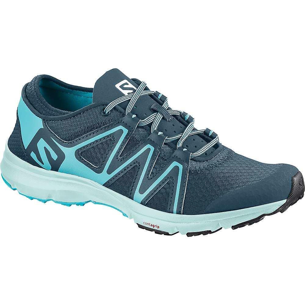 サロモン レディース シューズ・靴 ウォーターシューズ【Crossamphibian Swift Water Shoe】Mallard Blue / Blue Curacao / Eggshell Blue