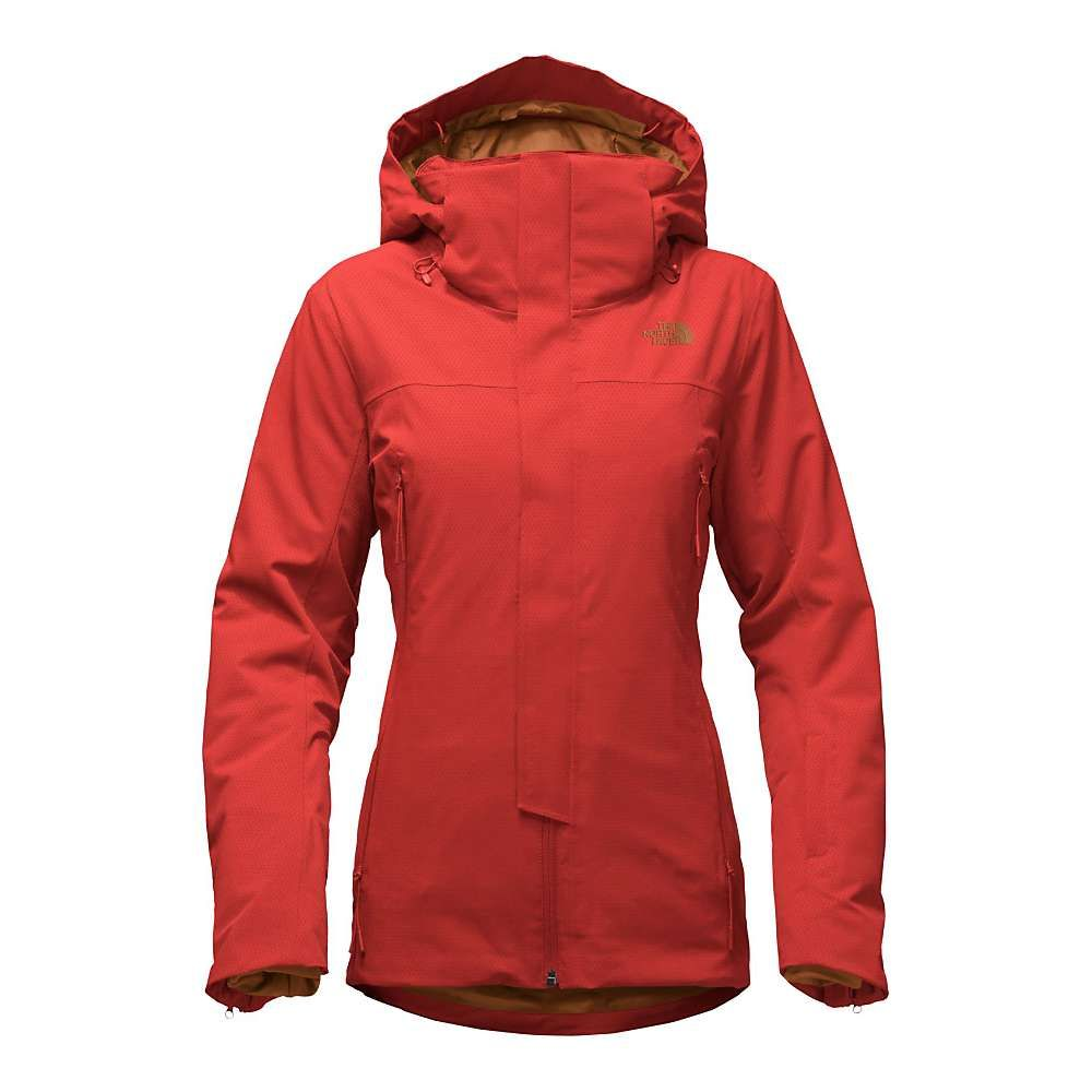 ザ ノースフェイス レディース スキー・スノーボード アウター【Powdance Jacket】Ketchup Red