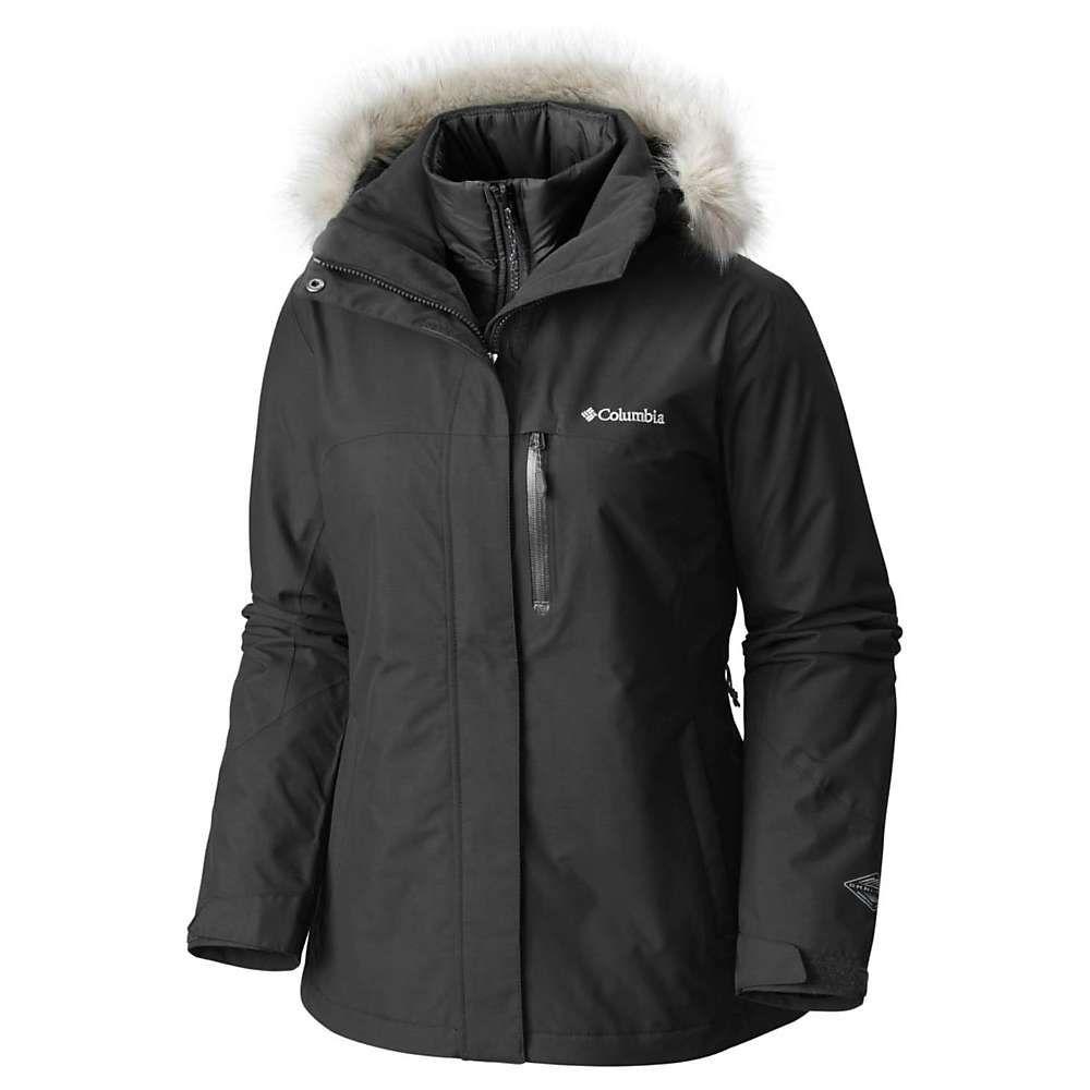 コロンビア レディース スキー・スノーボード アウター【Lhotse Interchange Jacket】Black