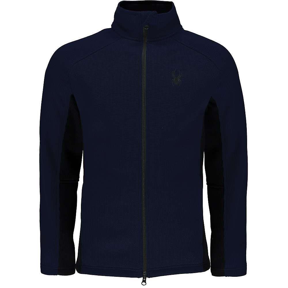 スパイダー メンズ スキー・スノーボード トップス【Constant Full Zip Mid Wt Jacket】Frontier / Black