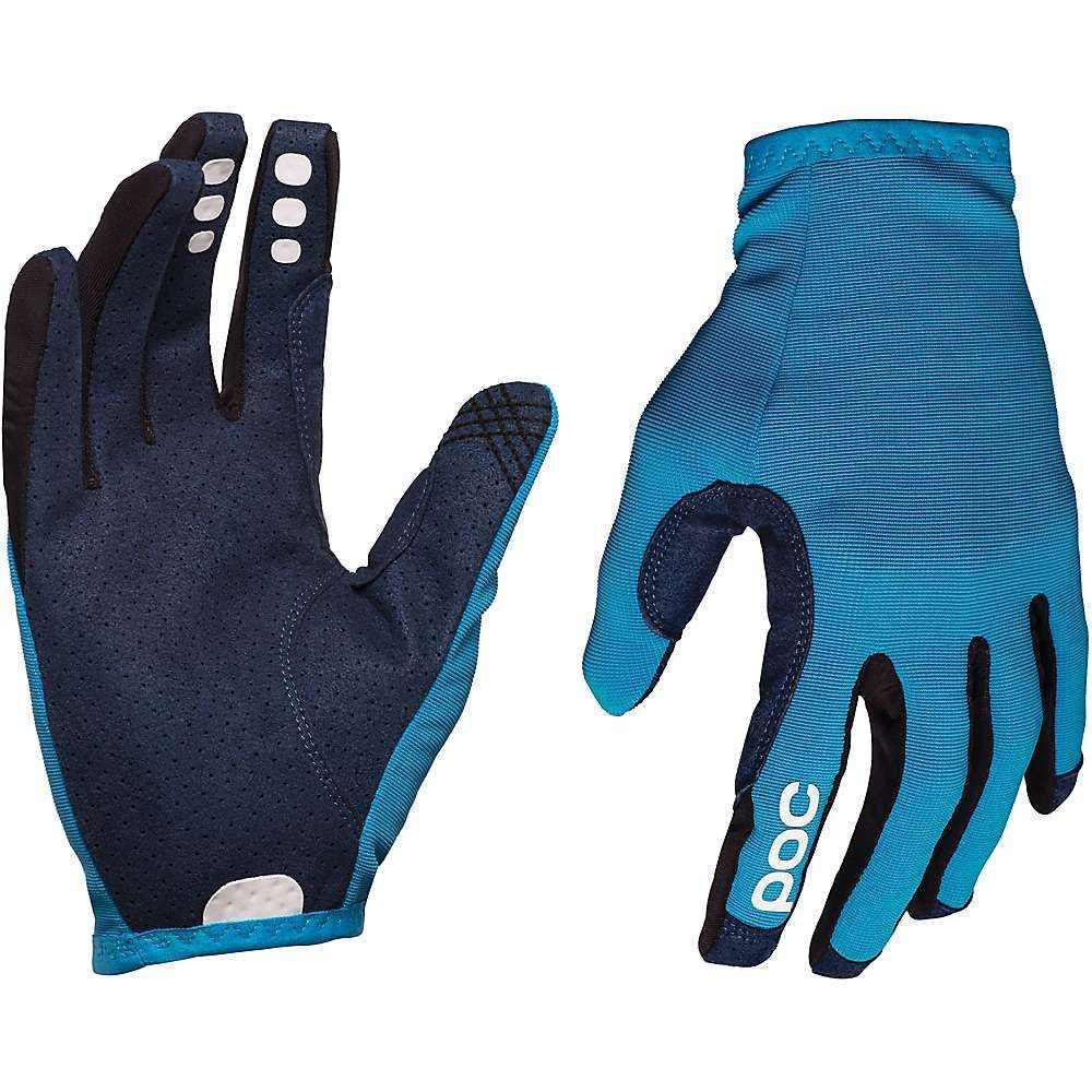 ピーオーシー メンズ 自転車 グローブ【Resistance Enduro Glove】Furfural Blue