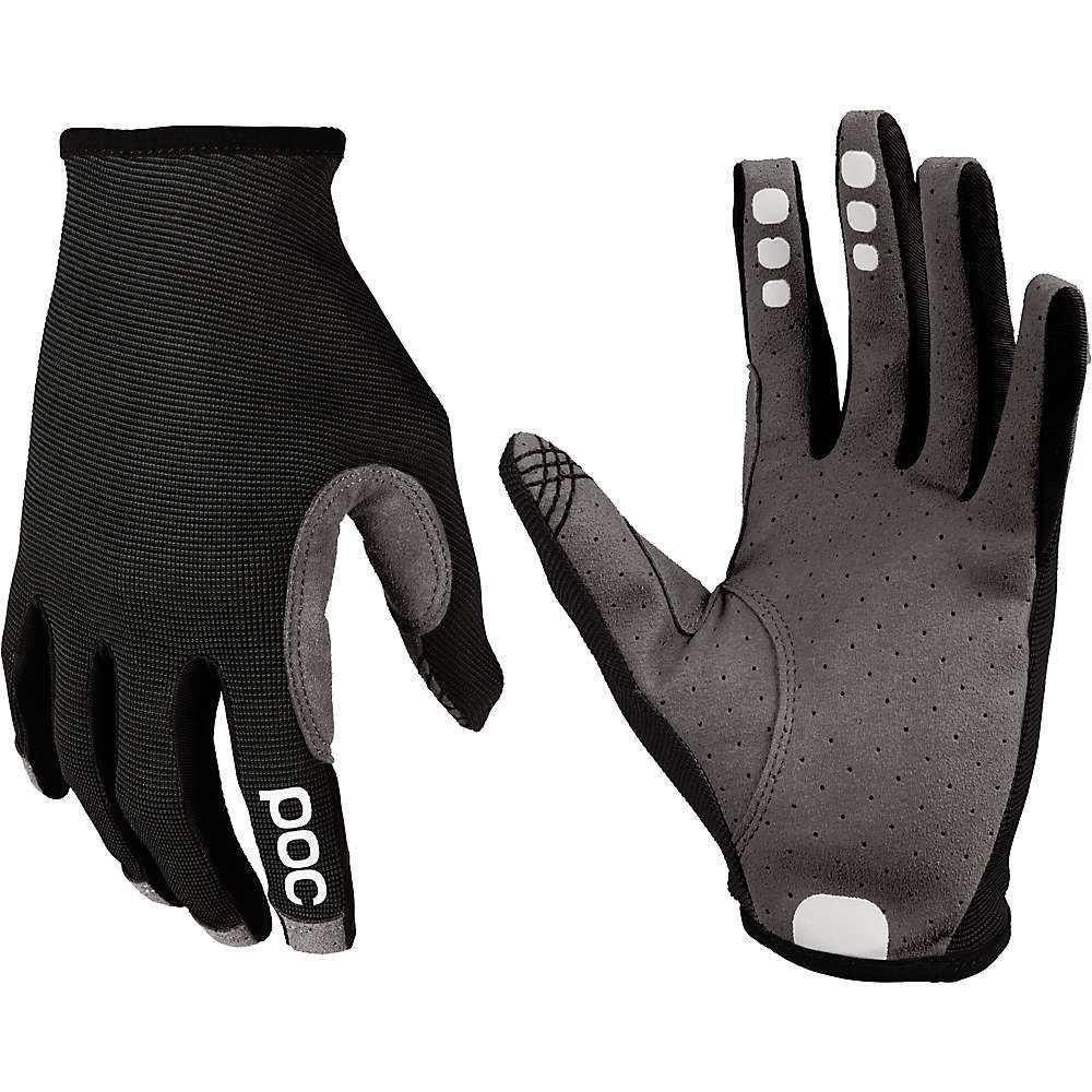 ピーオーシー メンズ 自転車 グローブ【Resistance Enduro Glove】Uranium Black / Uranium Black