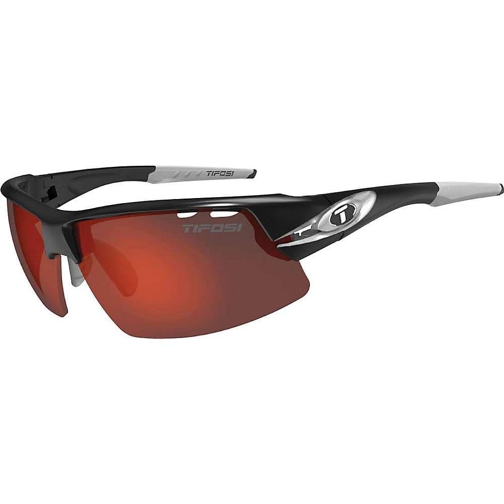 ティフォージ ユニセックス スポーツサングラス【Tifosi Crit Sunglasses】Race Silver / Clarion Red / AC Red / Clear