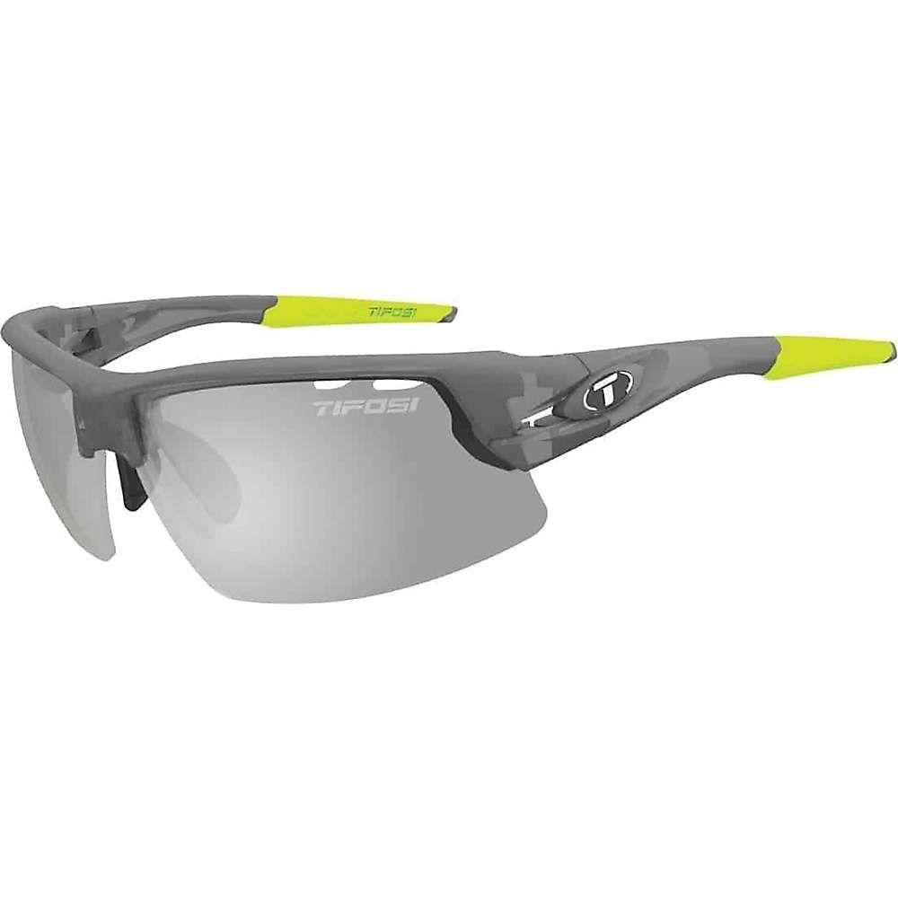 ティフォージ ユニセックス スポーツサングラス【Tifosi Crit Sunglasses】Matte Smoke / Smoke Fototec