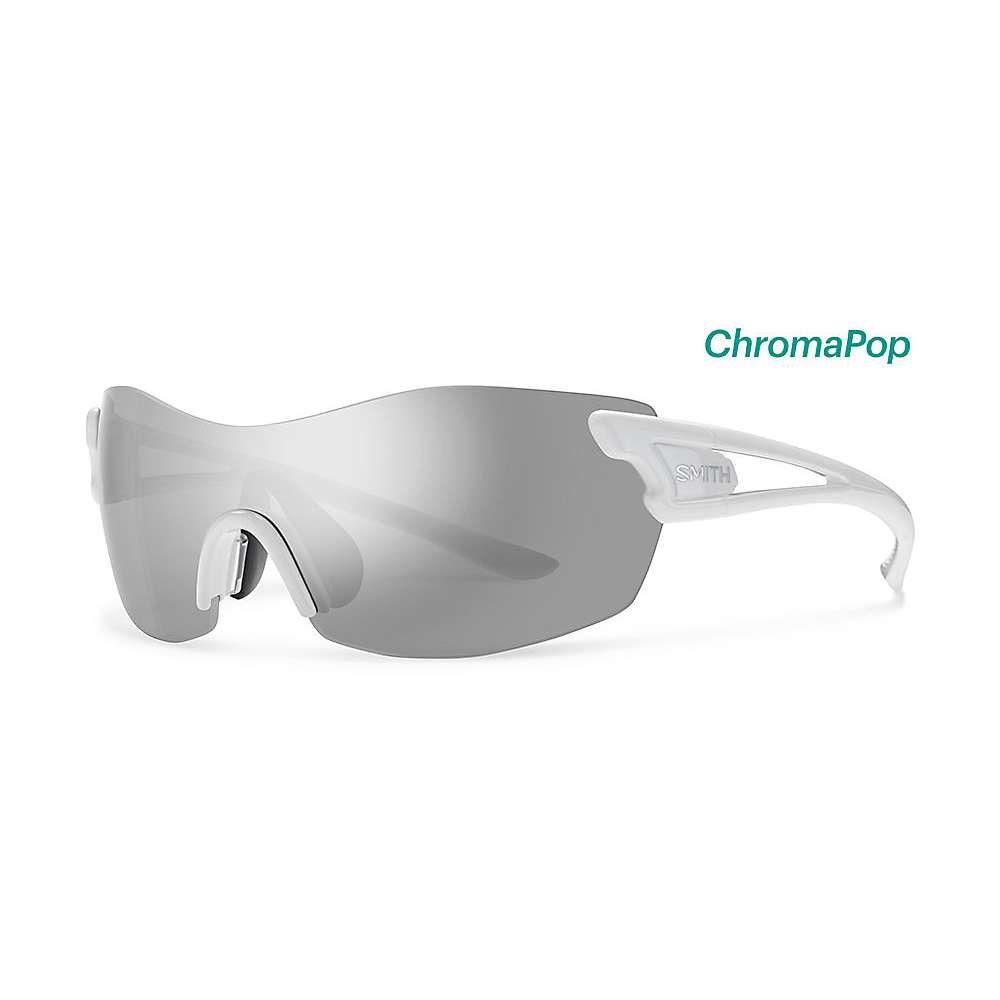 スミス ユニセックス スポーツサングラス【PivLock Asana ChromaPop Sunglasses】White / Platinum