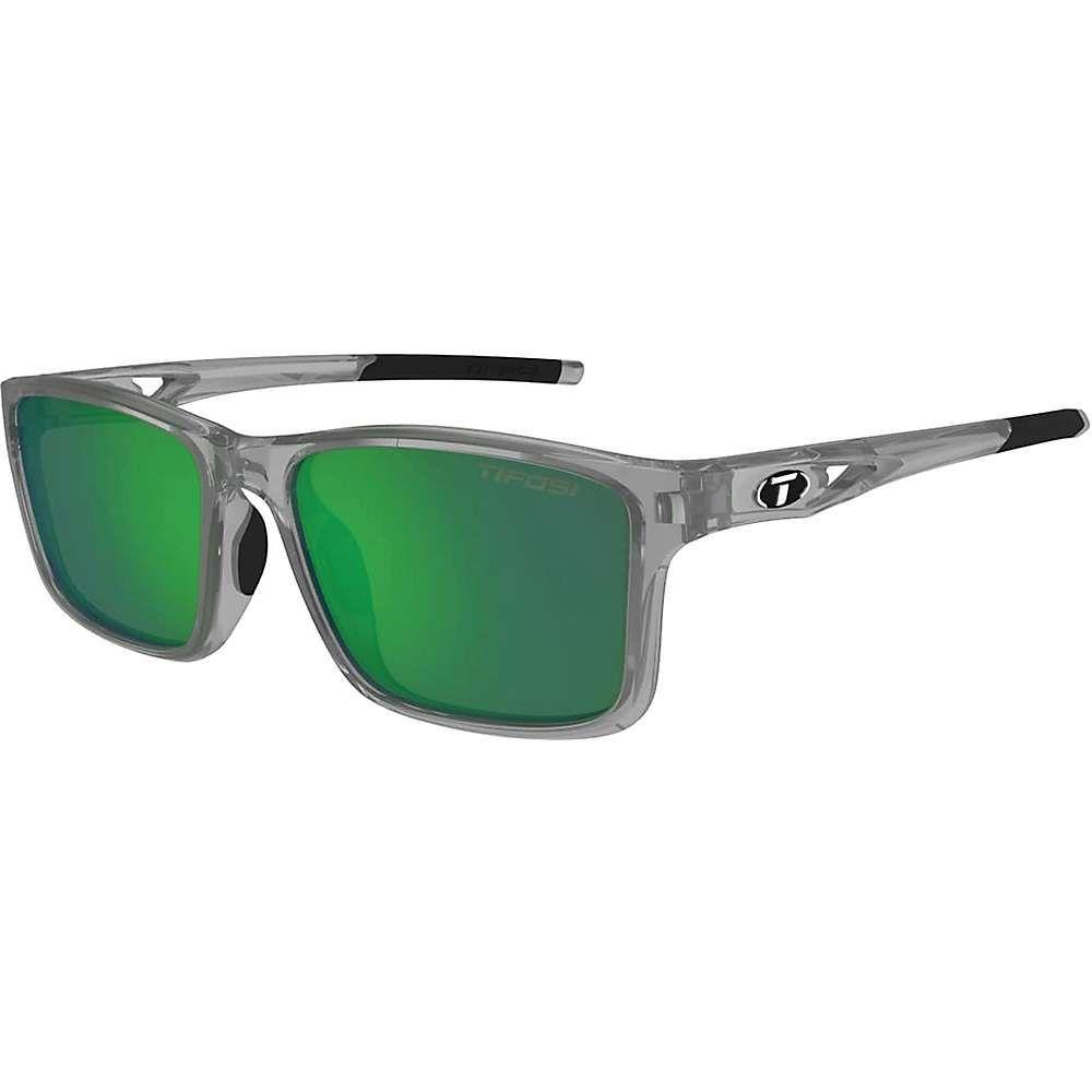 ティフォージ ユニセックス スポーツサングラス【Tifosi Marzen Sunglasses】Crystal Smoke / Smoke Green