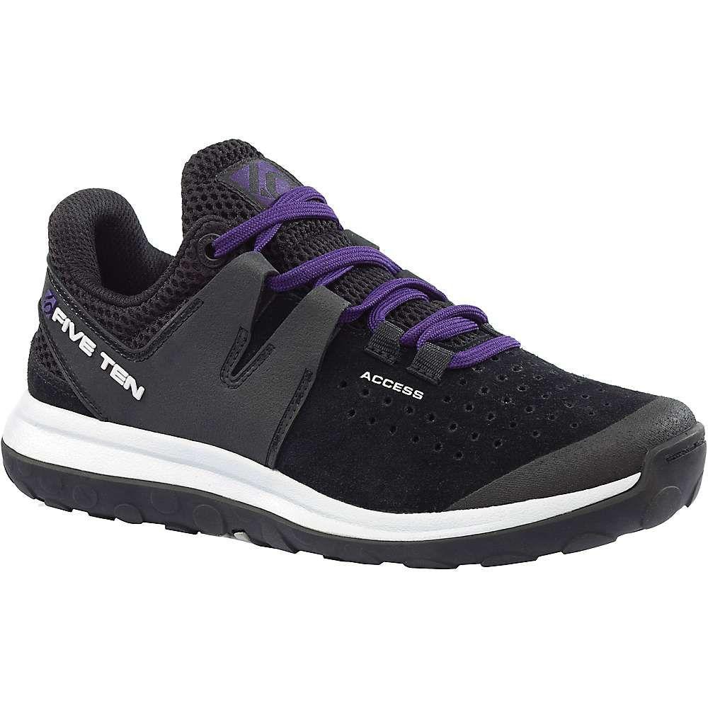 ファイブテン レディース ハイキング・登山 シューズ・靴【Access Leather Shoe】Black