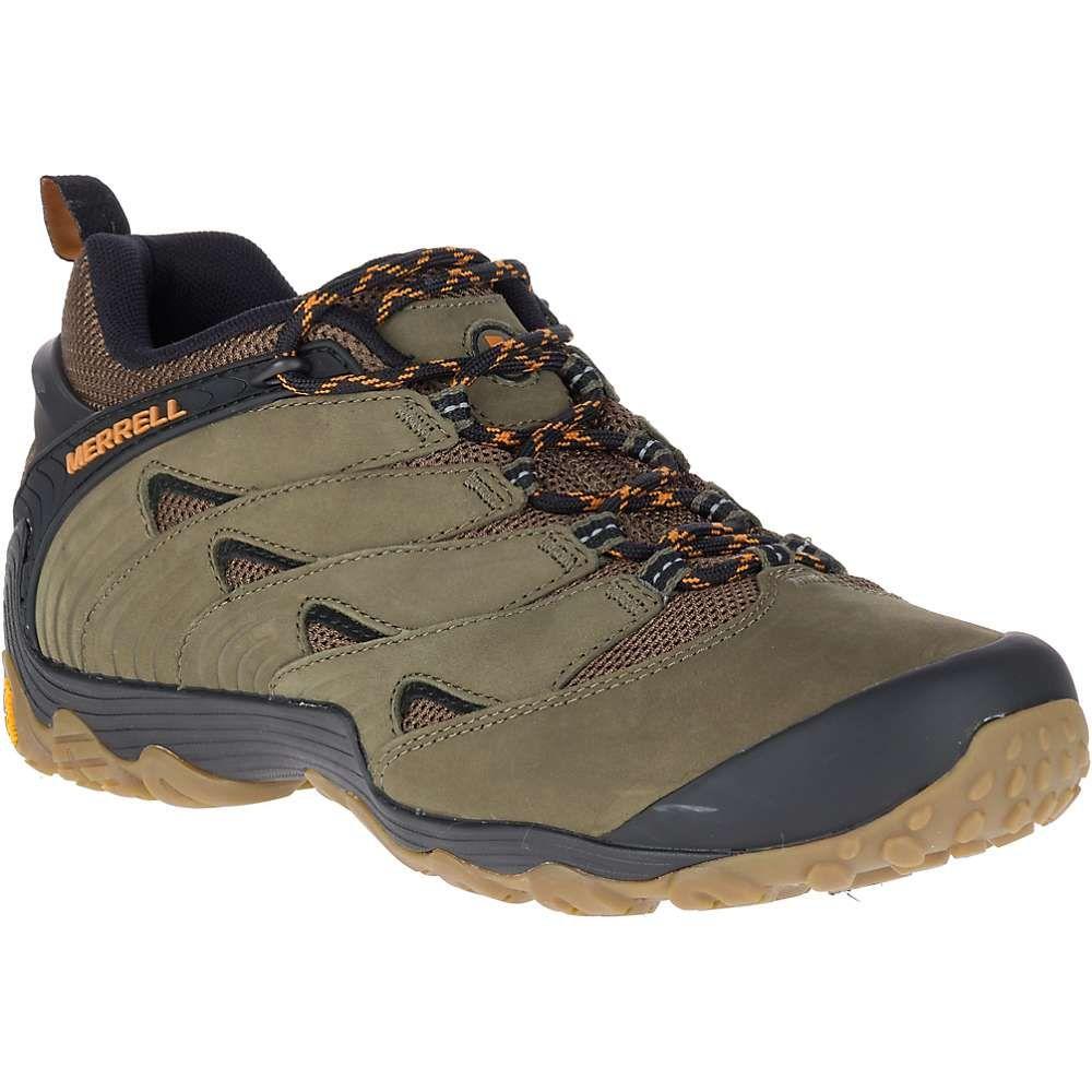 割引 メレル メンズ メンズ ハイキング Shoe】Dusty・登山 シューズ・靴【Chameleon 7 Shoe Olive】Dusty Olive, G&T:c6fabf1e --- canoncity.azurewebsites.net