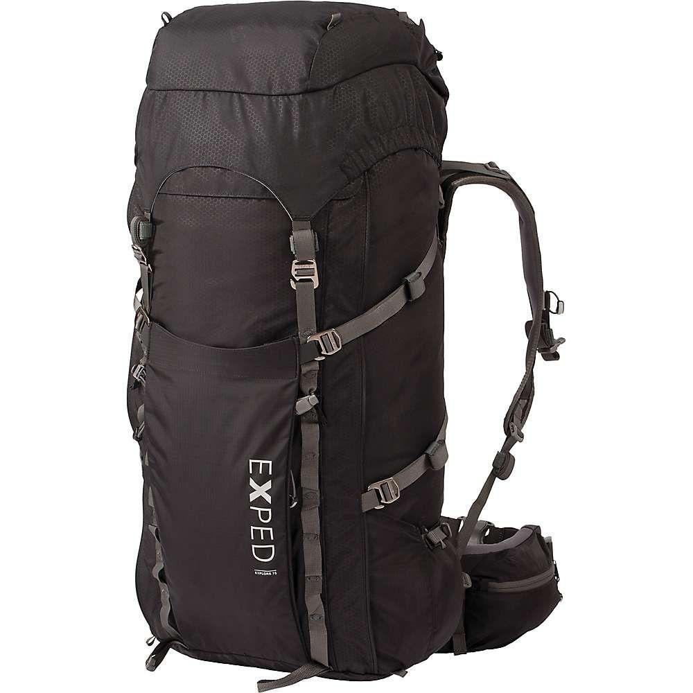 エクスペド メンズ ハイキング・登山【Explore 75 Backpack】Black