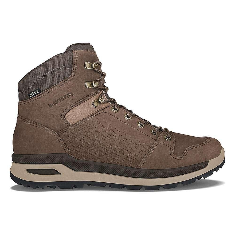 ローバー メンズ ハイキング・登山 シューズ・靴【Lowa Locarno GTX Mid Boot】Brown