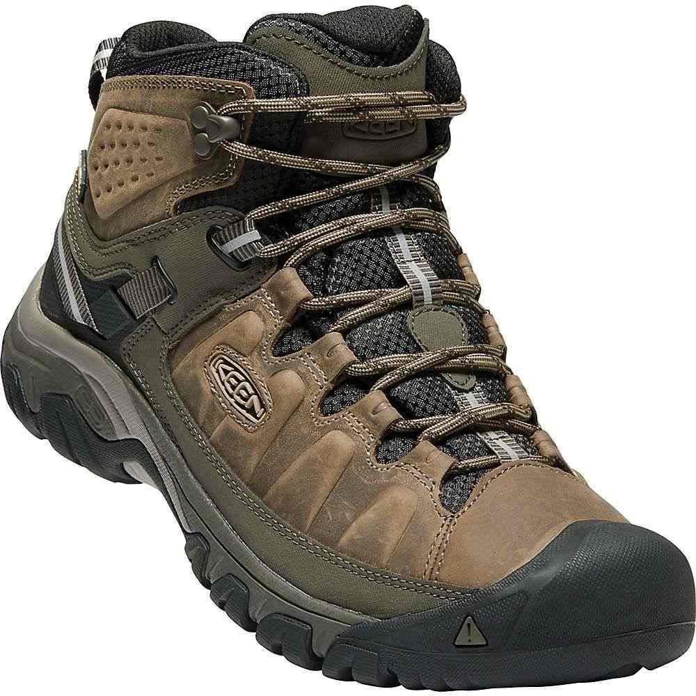 キーン メンズ ハイキング・登山 シューズ・靴【Targhee III Mid Waterproof Boot】Bungee Cord / Black
