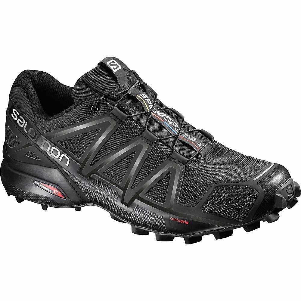 サロモン メンズ 陸上 シューズ・靴【Speedcross 4 Shoe】Black / Black / Black Metallic