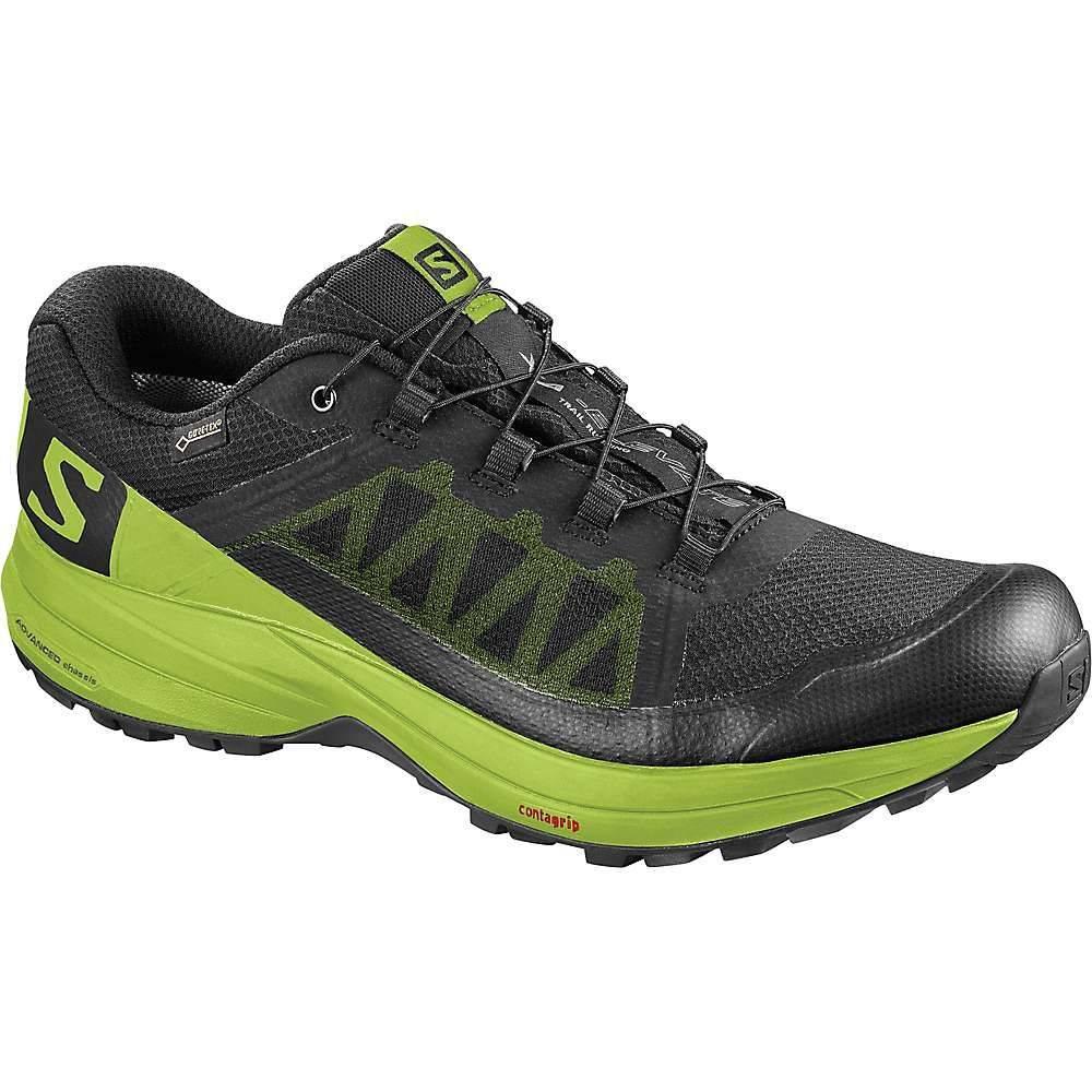 サロモン メンズ 陸上 シューズ・靴【XA Elevate GTX Shoe】Black / Lime Green / Black