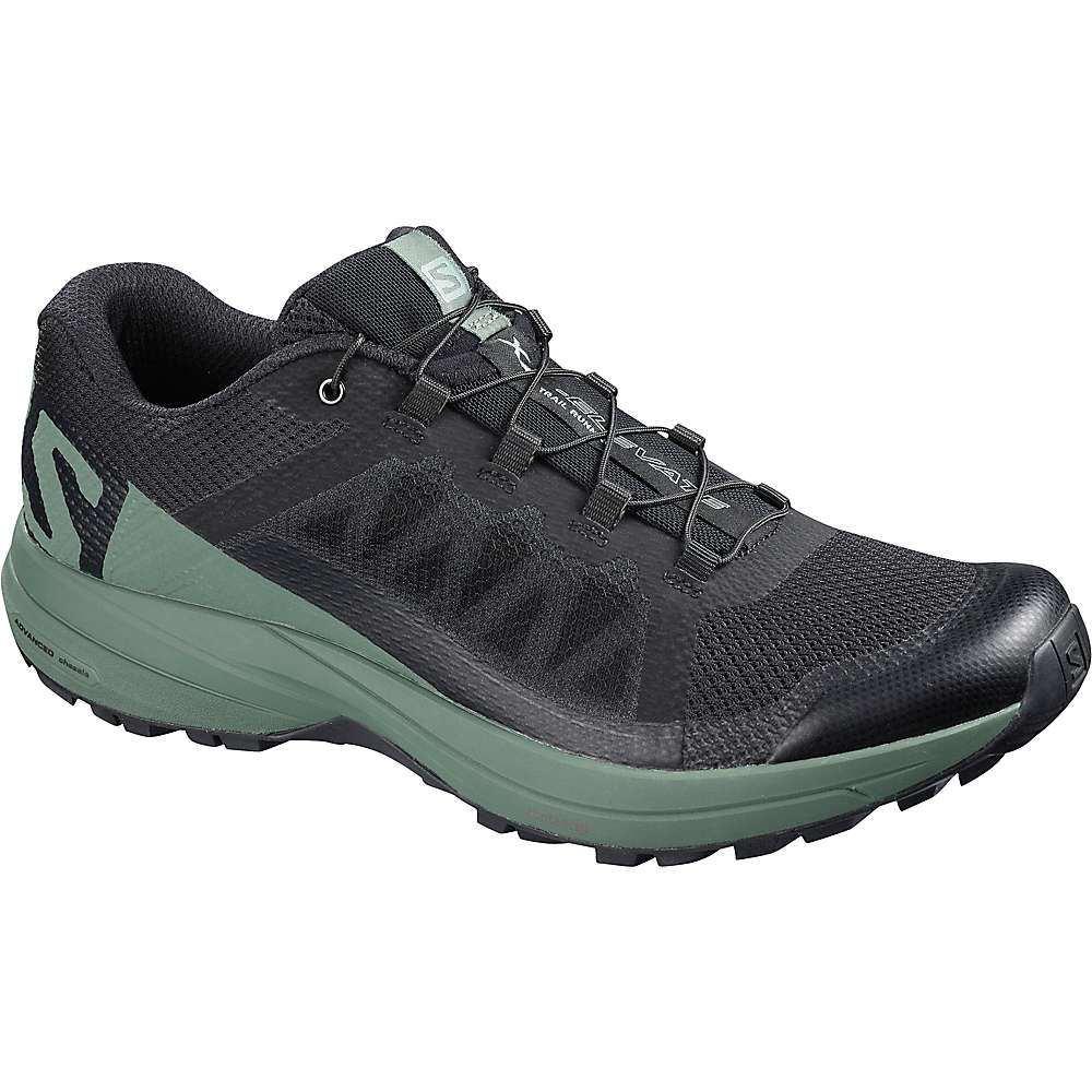 サロモン メンズ 陸上 シューズ・靴【XA Elevate Shoe】Black / Balsam Green / Black