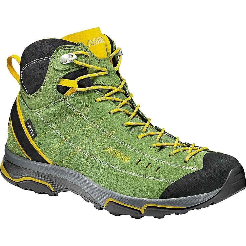 アゾロ レディース ハイキング・登山 シューズ・靴【Nucleon Mid GV Shoe】English Ivy / Yellow