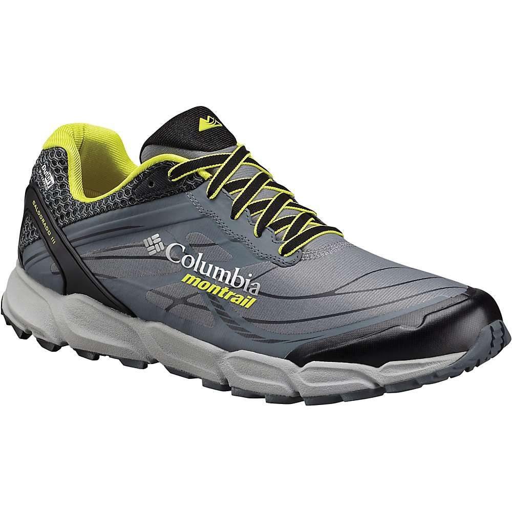 モントレイル メンズ 陸上 シューズ・靴【Caldorado III OutDry Shoe】Ti Grey Steel / Zour
