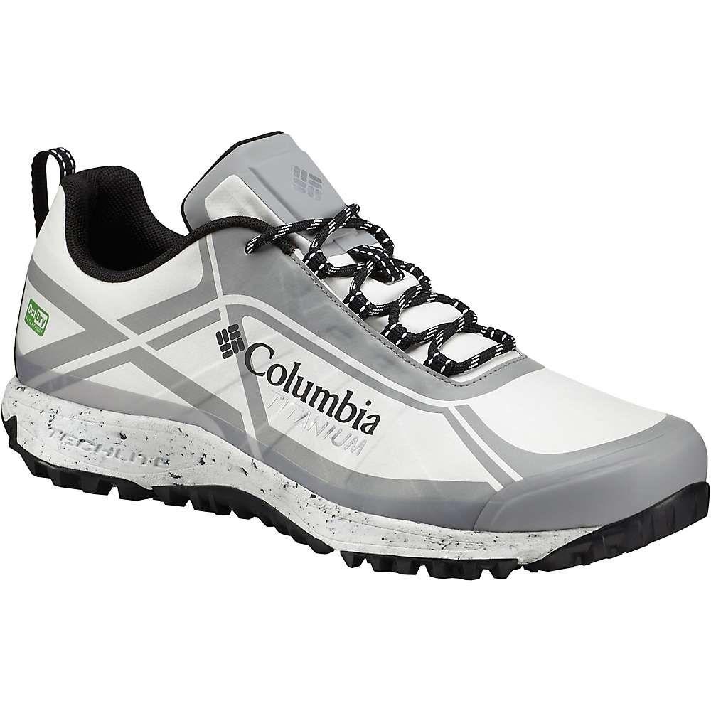 コロンビア メンズ 陸上 シューズ・靴【Columbia Conspiracy III Titanium OutDry Xtrm Eco Shoe】White / Lux