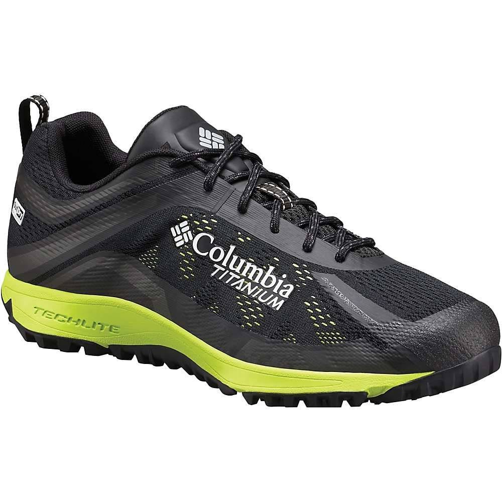 コロンビア メンズ 陸上 シューズ・靴【Columbia Conspiracy III Titanium OutDry Shoe】Black / White