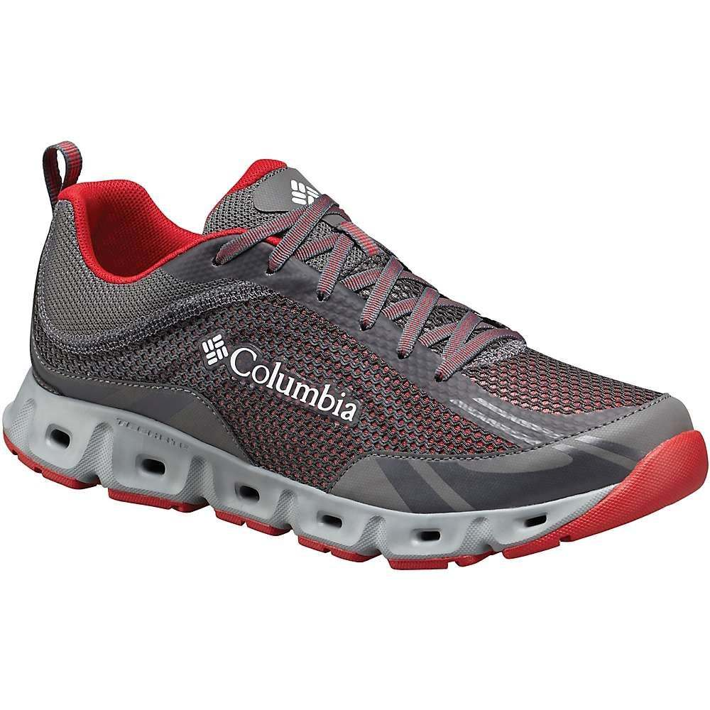コロンビア メンズ 陸上 シューズ・靴【Columbia Drainmaker IV Shoe】City Grey / Mountain Red
