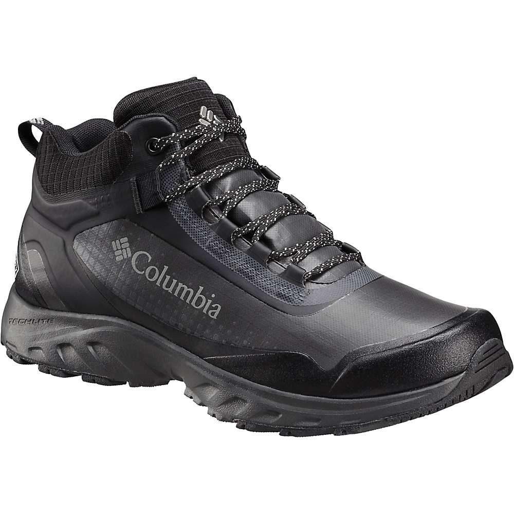 コロンビア メンズ ハイキング・登山 シューズ・靴【Columbia Irrigon Trail Mid OutDry Xtrm Boot】Black / Stratus