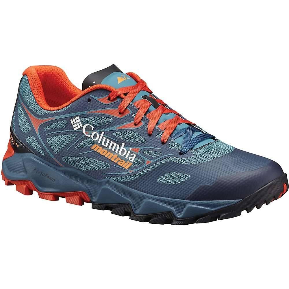 モントレイル メンズ 陸上 シューズ・靴【Trans Alps F.K.T. II Shoe】Canyon Blue / Orange Blast