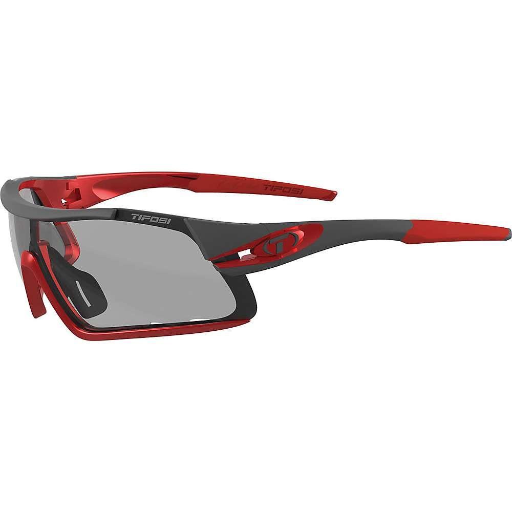 ティフォージ ユニセックス スポーツサングラス【Tifosi Davos Interchangable Sunglasses】Race Red/Smoke