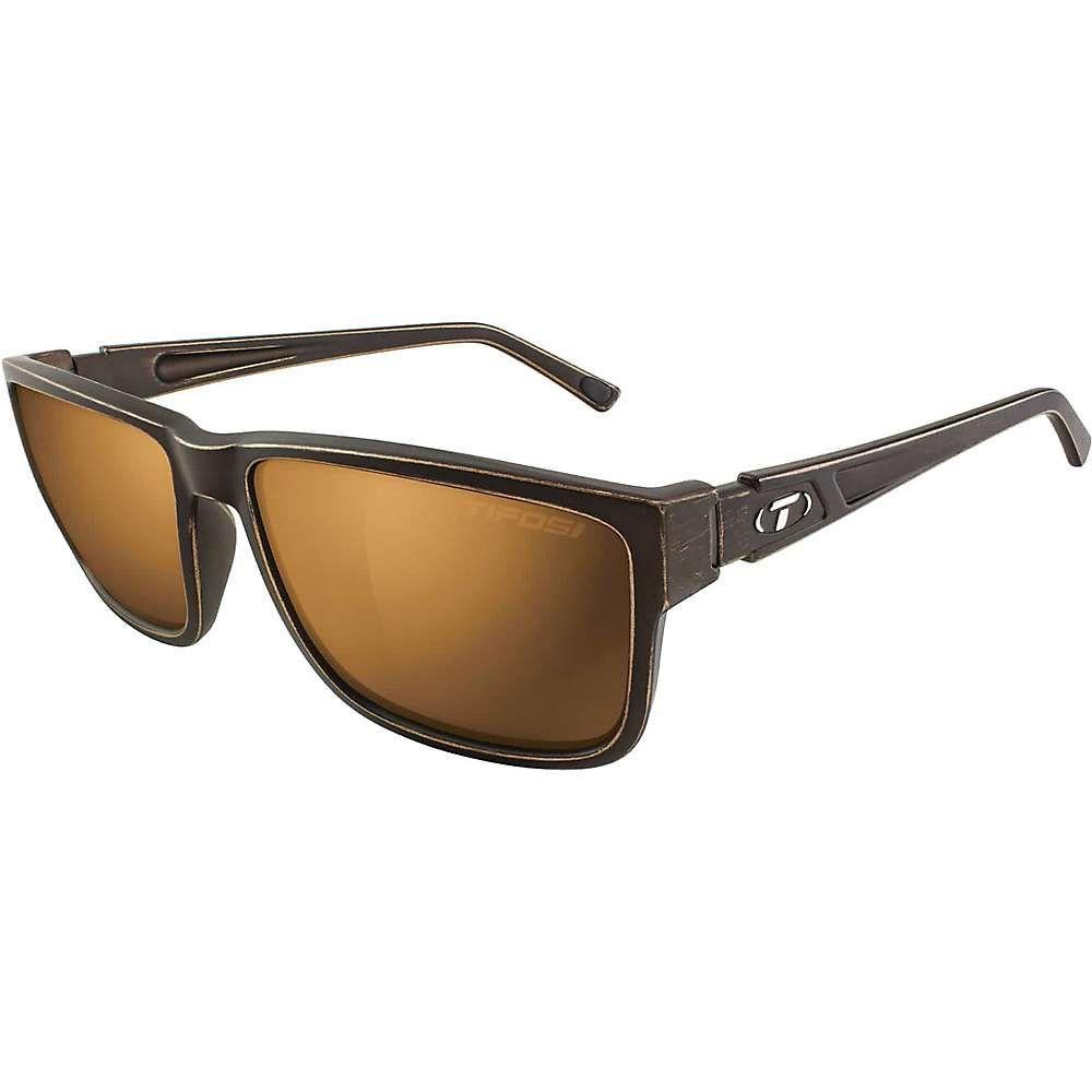 ティフォージ ユニセックス スポーツサングラス【Tifosi Hagen XL 2.0 Polarized Sunglasses】Distressed Bronze/Brown
