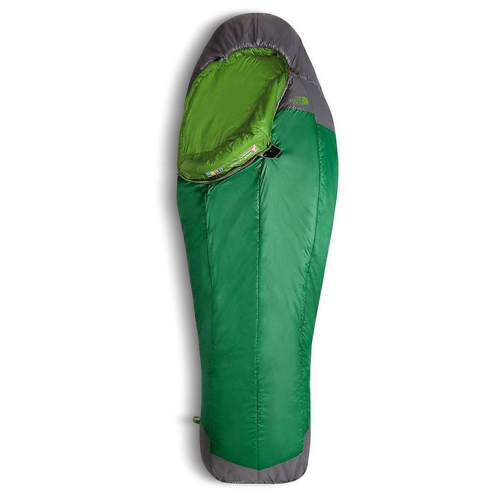 ザ ノースフェイス メンズ ハイキング・登山【Snow Leopard Guide Sleeping Bag】Amazon Green / Zinc Grey