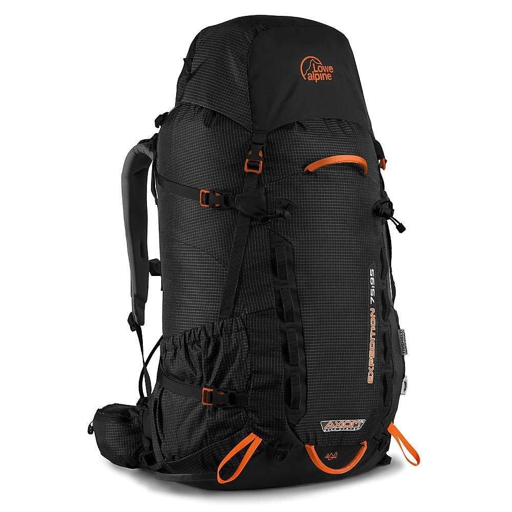 ロエアルピン メンズ ハイキング・登山【Expedition 75:95 Pack】Black