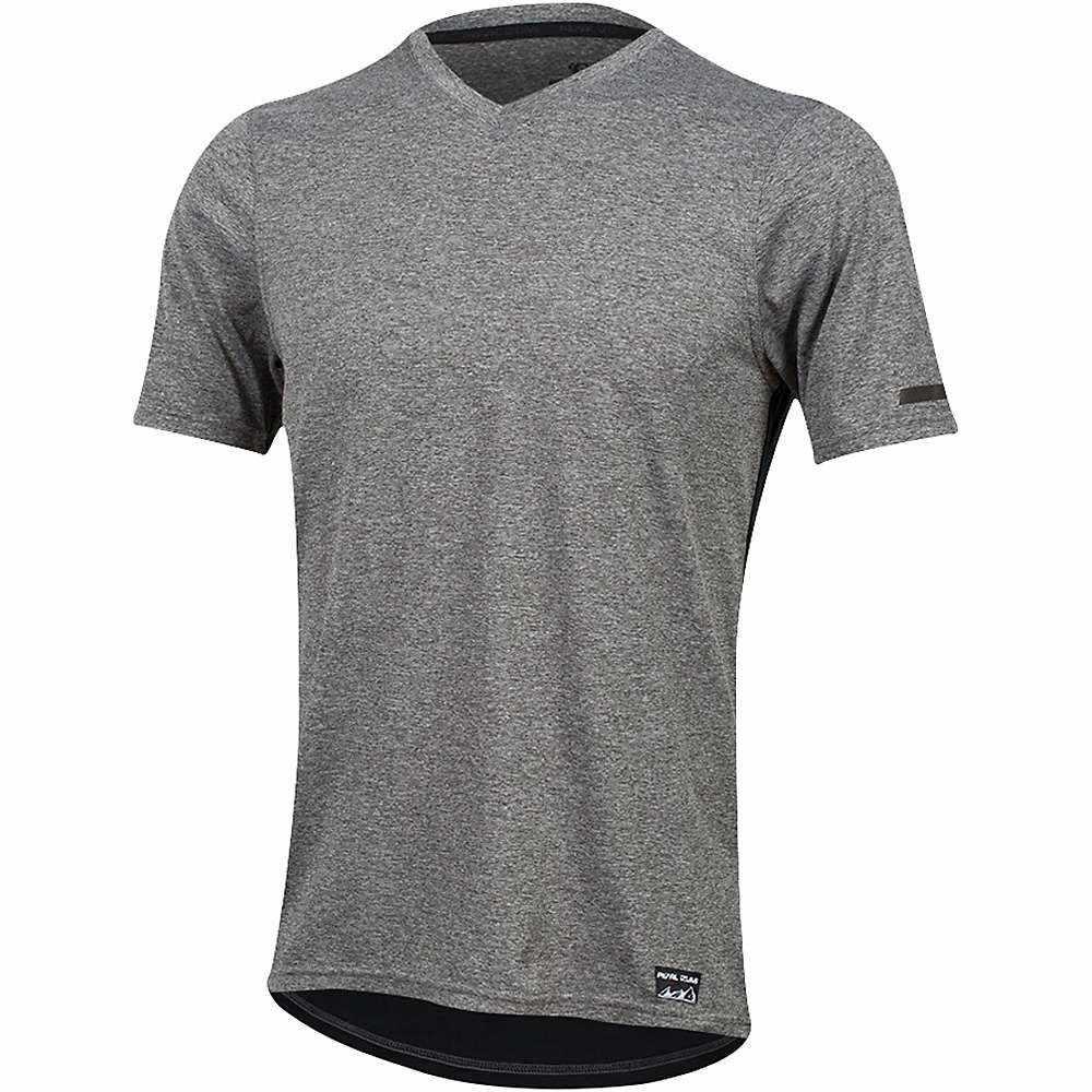 パールイズミ メンズ 自転車 トップス【Performance T Shirt】Smoked Pearl / Black