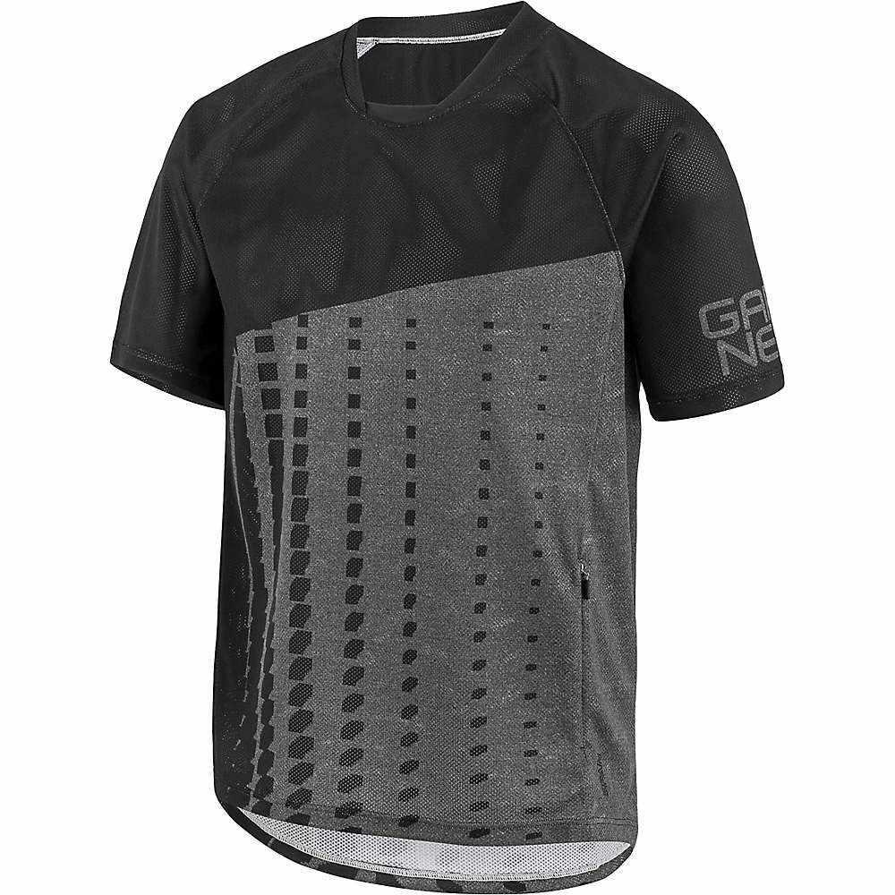 ルイスガーナー メンズ 自転車 トップス【Span Jersey】Black / Heather Grey