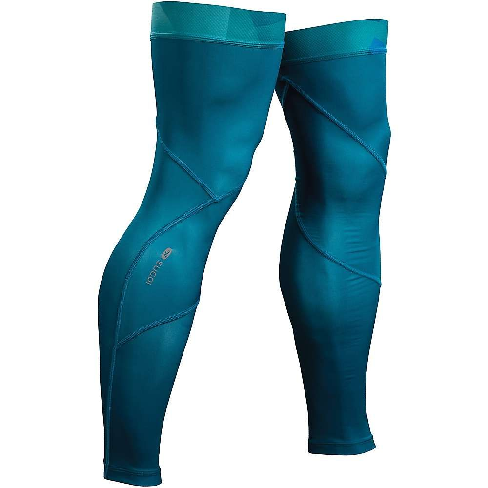 スゴイ ユニセックス ランニング・ウォーキング【Leg Cooler】Ocean Depth / Mountain Print